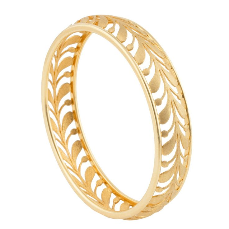 18k Gold Tiffany  Co. bangle bracelet. Designed by Paloma Picasso and finely made by Tiffany.