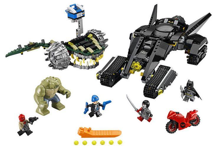 Lego DC Comics Super Heroes - Batman: Batman: Killer Croc Sewer Smash (76055)   © LEGO Group