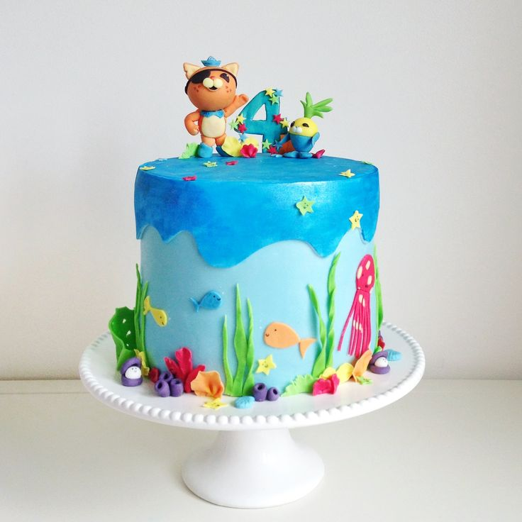 30 best octonauts cakes images on Pinterest Cake ideas 5th