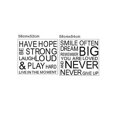 Muursticker 'have hope' - EUR € 27.26