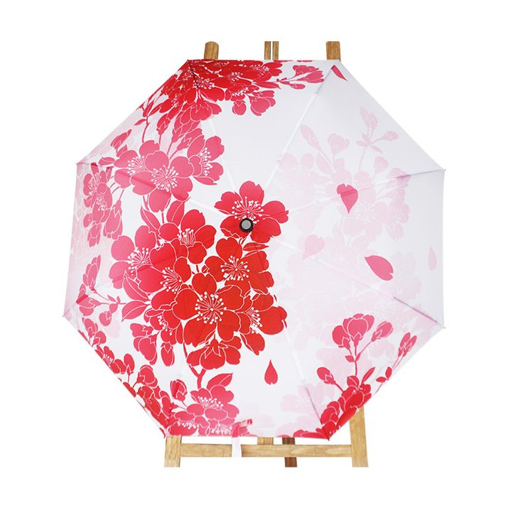 Find More Umbrellas Information about ChowDon Unique New Womens Fresh Novelty Three Folding Japanese Sakura Printing Best Cheap Umbrellas Fashionable Windproof Gifts,High Quality umbrella base,China umbrella auto Suppliers, Cheap umbrella hook from ChowDon Household Mall on Aliexpress.com