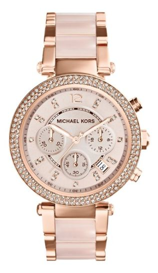 This is exactly the watch I would love to have. rose gold and blush watch @nordstrom http://rstyle.me/n/rdmewpdpe Michael Kors
