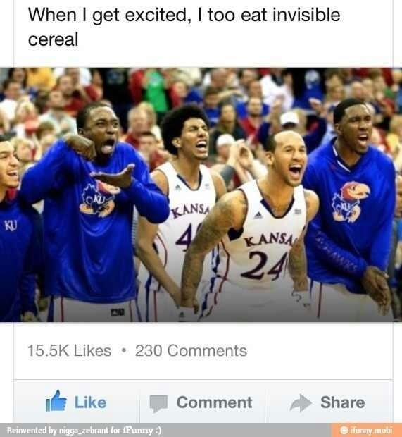Hahahhahahahhaha invisible cereal!