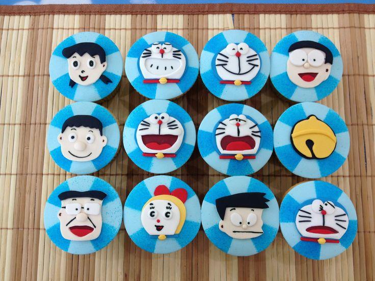 Doraemon Cupcake !!