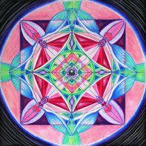 Persönliches Mandala 'Der Klang des Herzens'