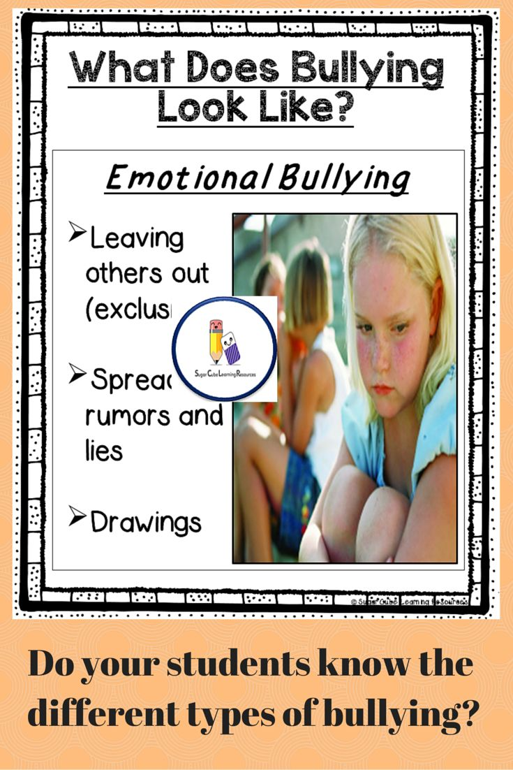an understanding of the different types of bullying Understanding the grey areas  although some types of bullying  different strengths of each staff member.