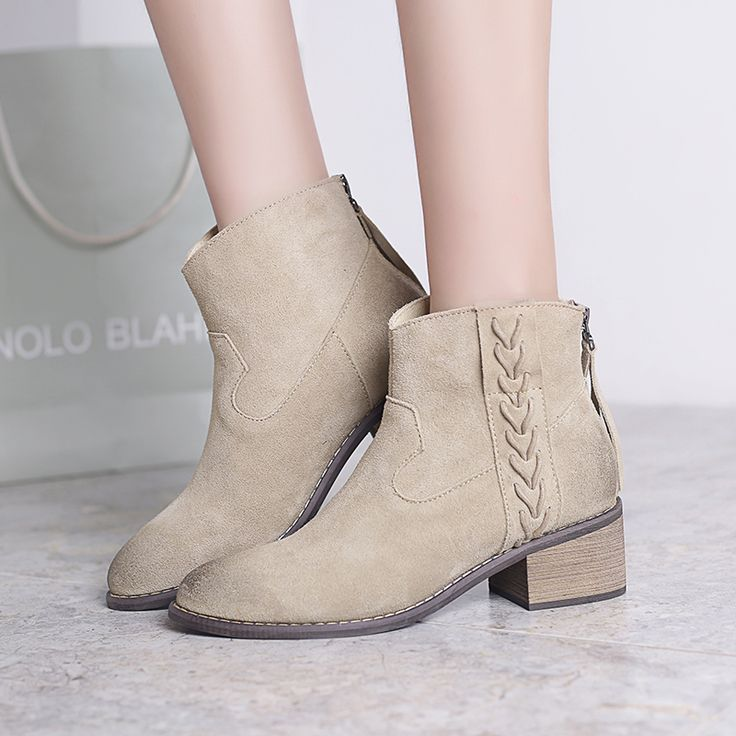 This item is now available in our shop.   Free Shipping New Women Boots Leather Boots Seasons Martin With Pointed Boots Nubuck Leather Seasons Bare Boots HOT - US $43.52 http://bagsshoescenter.com/products/free-shipping-new-women-boots-leather-boots-seasons-martin-with-pointed-boots-nubuck-leather-seasons-bare-boots-hot/