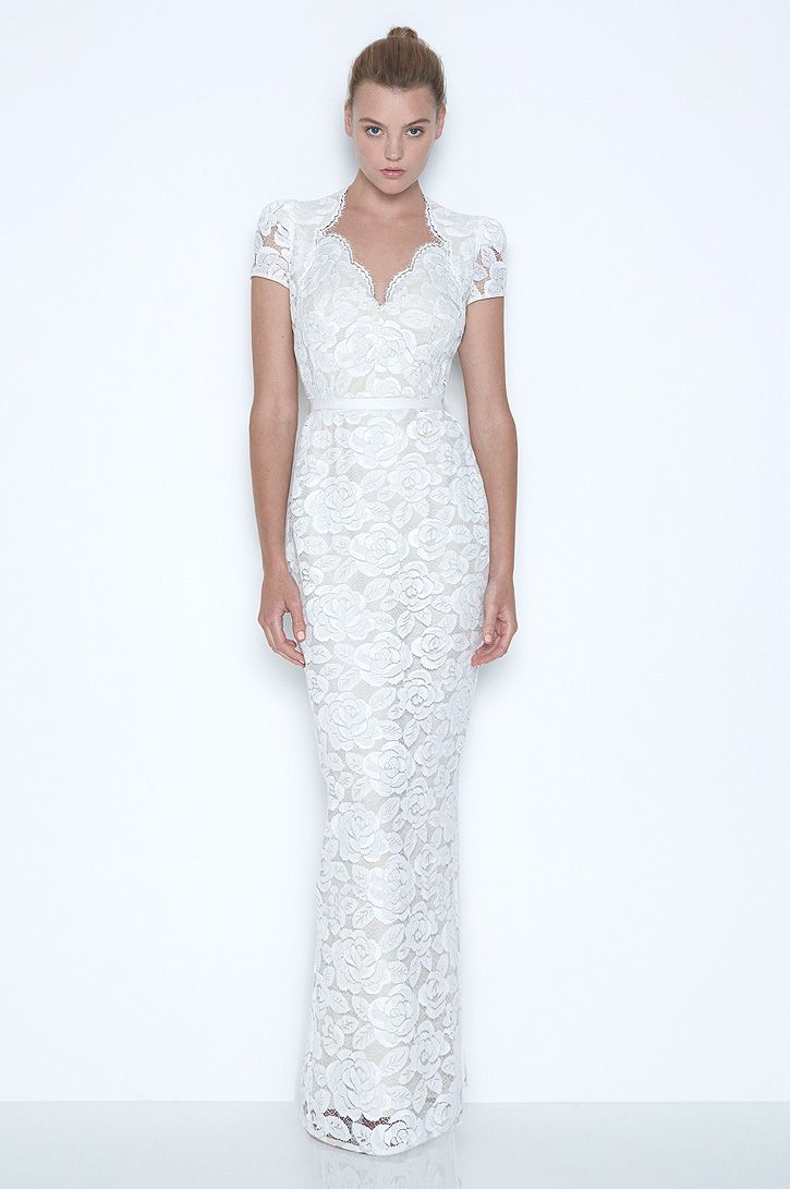 White magick lover dress lace