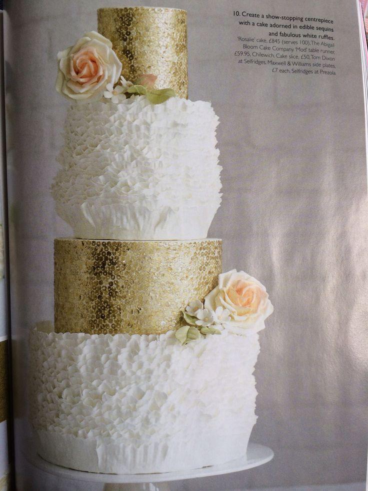 71 Best Cake Sequins Images On Pinterest Cake Wedding Amazing - Selfridges Wedding Cakes