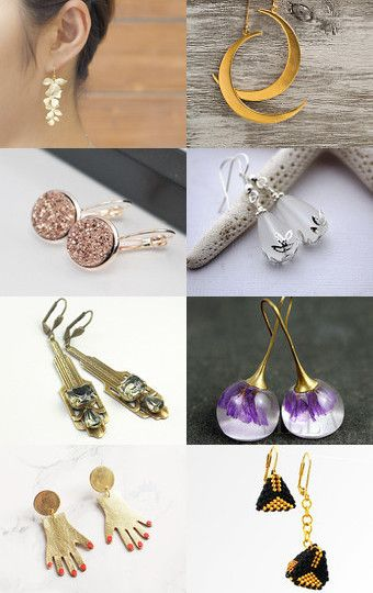 earrings for mom by Chiara Musso on Etsy--Pinned with TreasuryPin.com