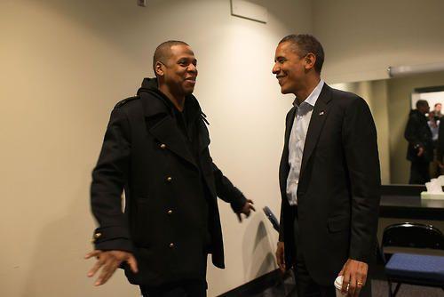 Jay-Z and President Obama