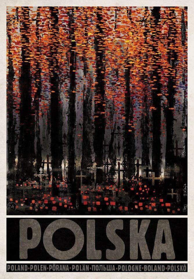 POLSKA by Ryszrad Kaja #polska #poland #ryszradkaja #poster