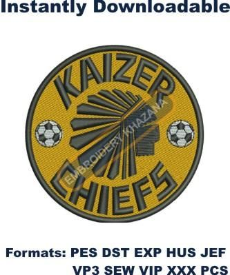 machine embroidery Biggleswade united football club logo