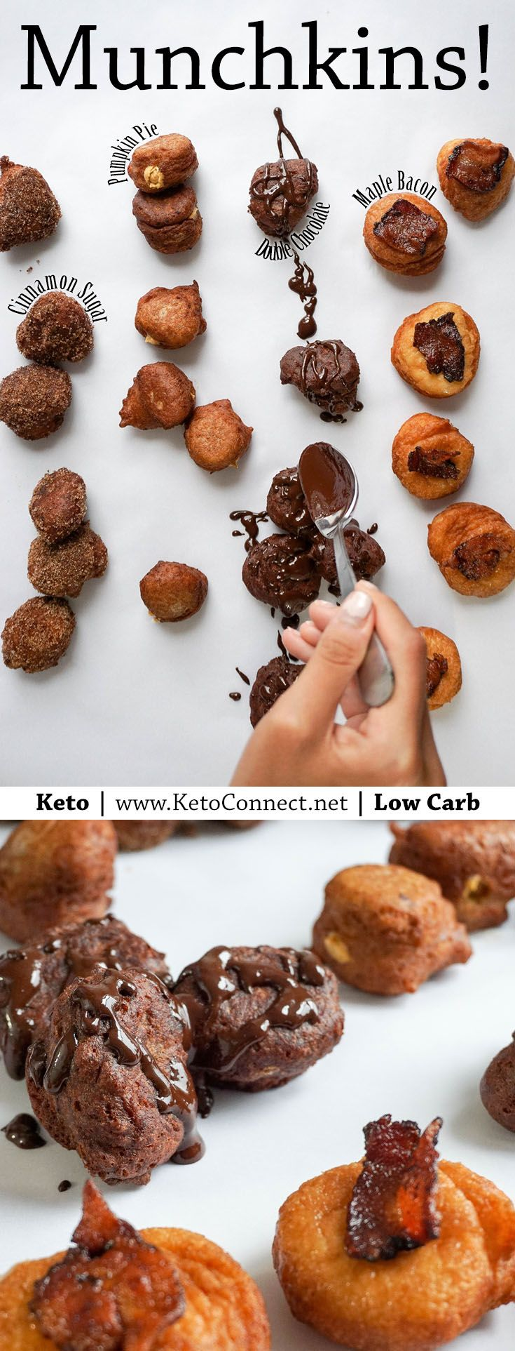 Keto Donuts are here, just in time for fall!  Before you ask...Yes we have Pumpkin Spice.