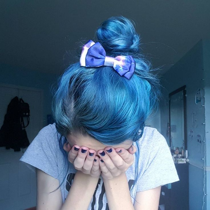 Manic Panic Voodoo & Rockabilly Blue - Hair Colors Ideas
