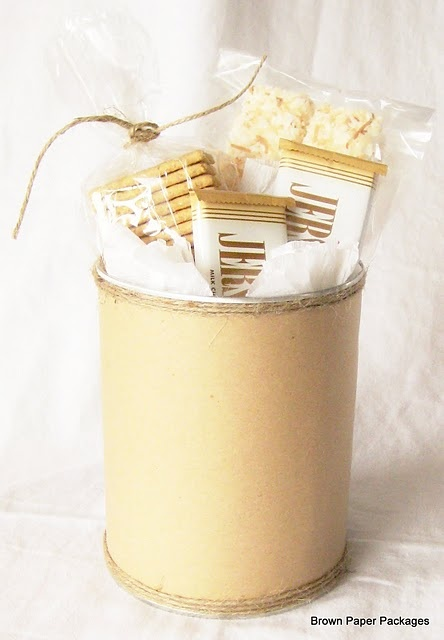 smores kit gift package recipe for coconut marshmellows