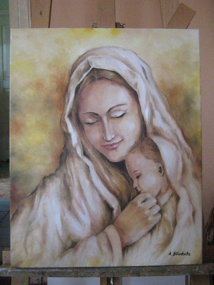 Maryja z Dzieciątkiem Agnieszka Błachuta