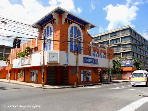 Globe Cinema in Port of Spain Trinidad, photographed by Rachel Amy Rochford