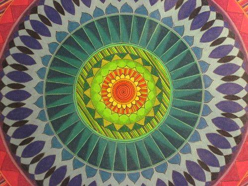 Open Mind Mandala Close Up  – Mandala Tattoo