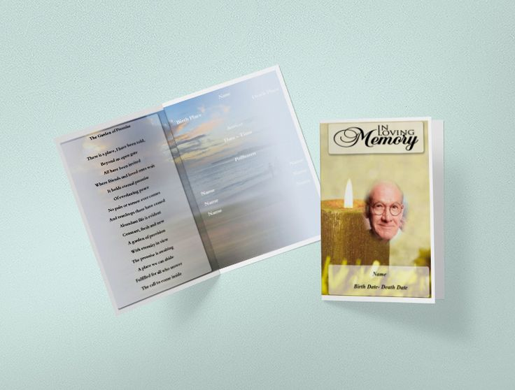 25+ parasta ideaa Pinterestissä Funeral program template free - funeral program templates free downloads