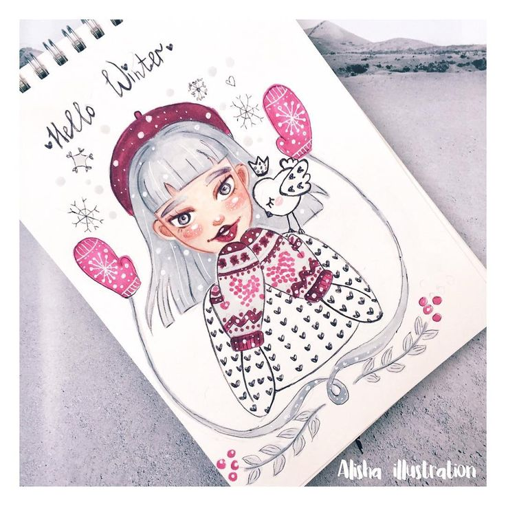 1,065 отметок «Нравится», 14 комментариев — Alisha  Digital Illustrator (@alishaillustration) в Instagram: «Happy Vday from my forestfairy»