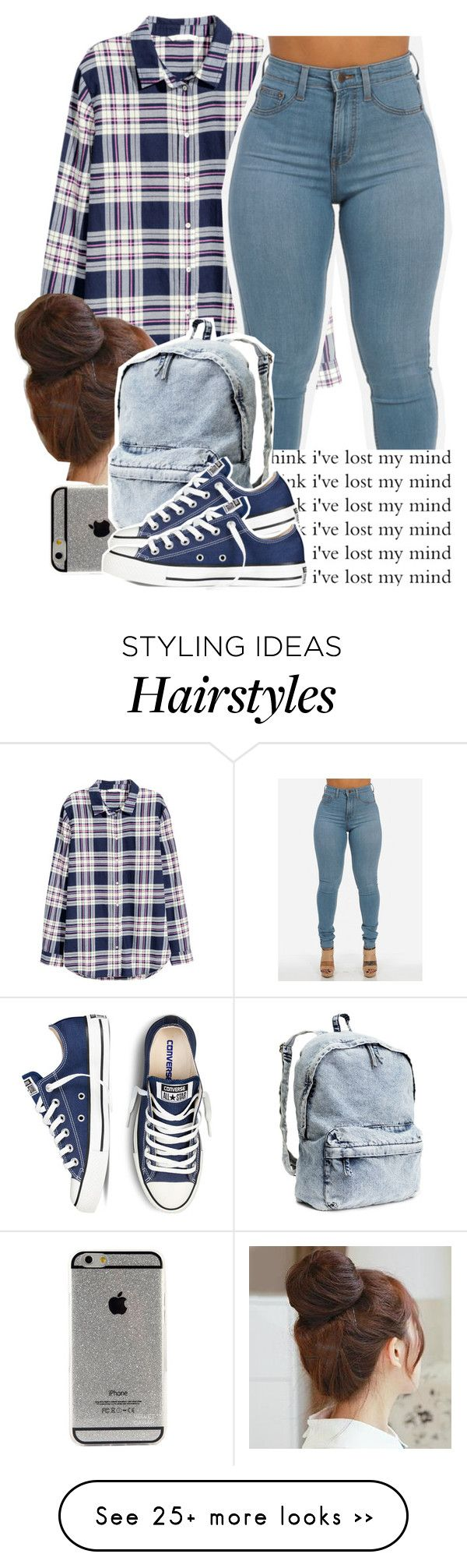 """No7 lateposting ha"" by kkcfashion on Polyvore featuring H&M and Pin Show"
