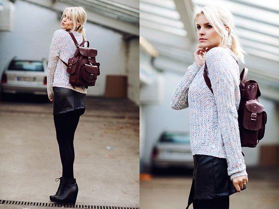 Rich & Royal Pullover, G Star Raw Skirt, Steve Maddan Bag