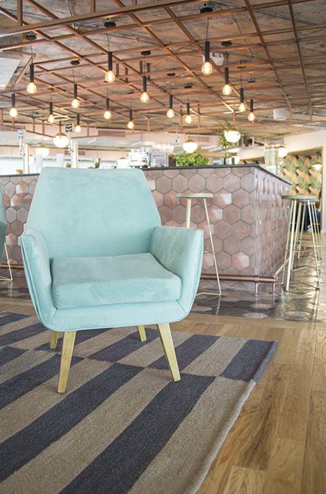 We Work Argentina: fotos de algunas de las alfombras que tejimos para el edificio Bellini. - Elementos Argentinos