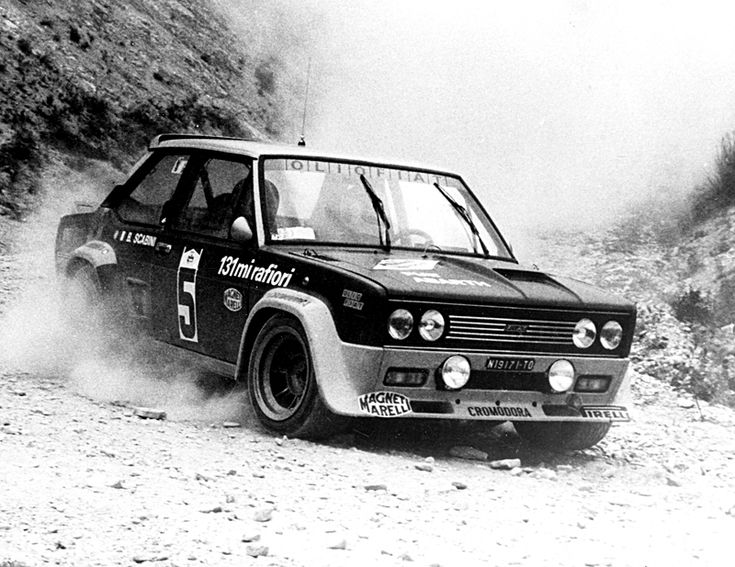 Fiat 131 Abarth, Rally