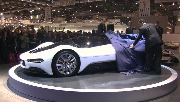 Pininfarina Maserati Birdcage 75th (2005) making of, full documentary | Ken Okuyama, Jason Castriota - YouTube
