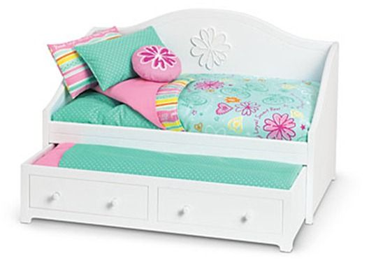 Doll Trundle Bed Doll Furniture Pinterest Girl Dolls American