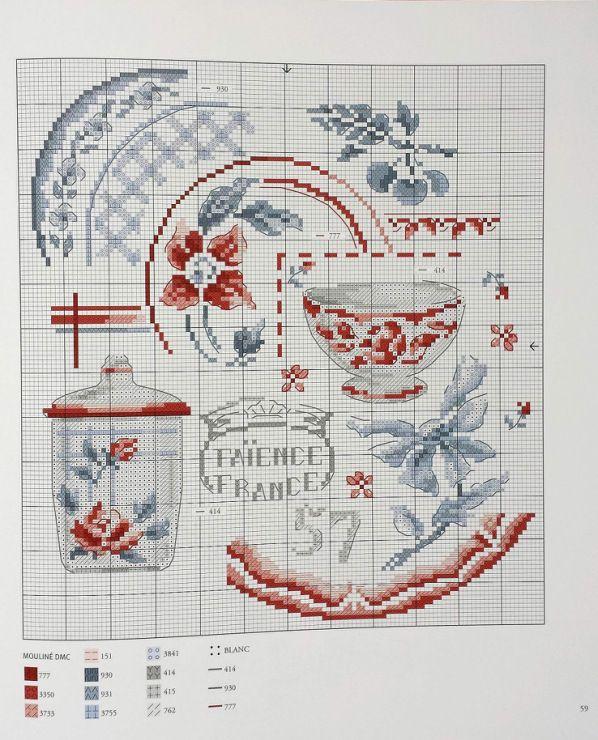 Veronique enginger les plus belles collections au point de croix crochet et petites croix - Veronique enginger grille gratuite ...
