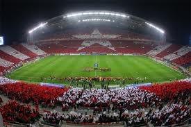 Urawa reds Choreography ACL FINAL   2nd vs Sepahan Esfahan FC 11/14/2007 in saitama stadium 2002