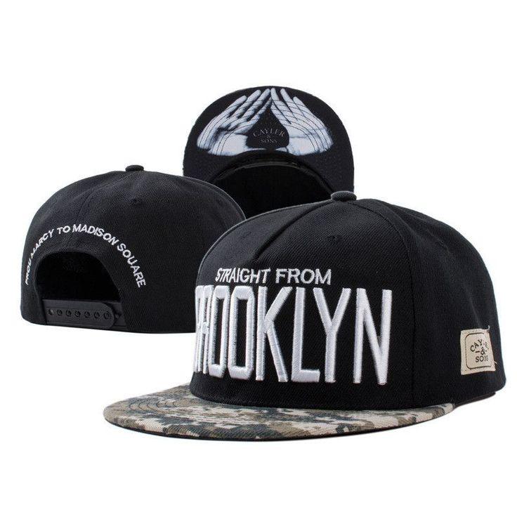 New Fashion 2015 Gorras Snapbacks Caps Skull Letter Cayler Sons Hip Hop Cap Baseball Caps Skateboard Hats Casquette Men Women