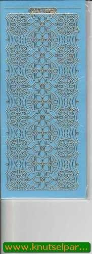 Nieuw bij Knutselparade: K102 Stickervel blauw/goud nr. XP 6902 https://knutselparade.nl/nl/stickervellen/7115-k102-stickervel-blauw-goud-nr-xp-6902.html   Stickervellen, Hoekjes en Randen -