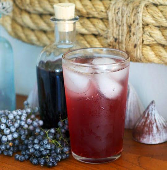 Drink Recipe: Elderberry Shrub | The Kitchn