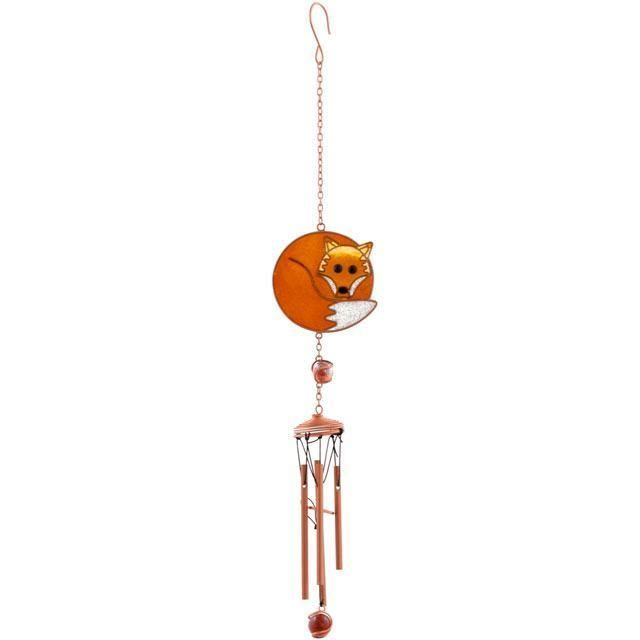 Metal and glass colourful Butterfly windchimes !FREE UK P/&P!