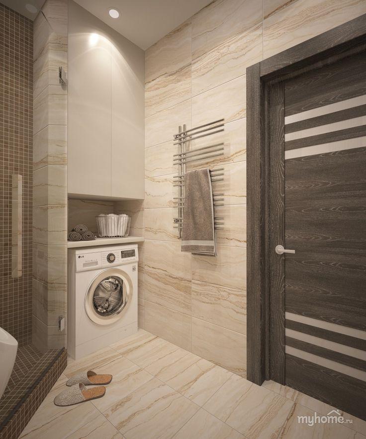 Ванная в квартире на Державина 47. Ванная