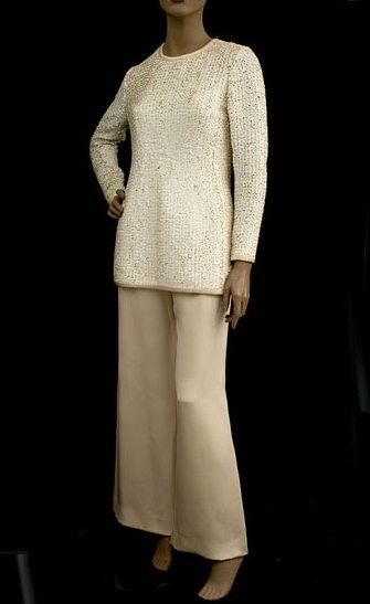 Yves Saint Laurent Couture, вечерний костюм, 1970
