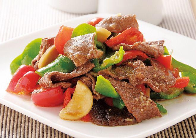牛肉と彩りピーマンのオイスター炒め|コープクッキング