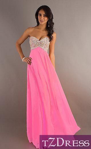 Вечерние розовые платья фото