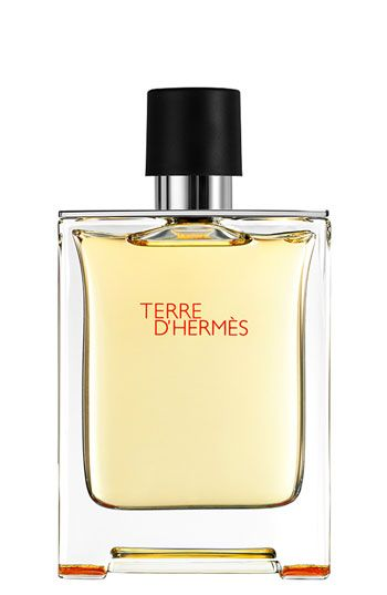 Hermès Terre d'Hermès - Eau de toilette: 1 for the men folk. It's woody, spicy, vegetal and has a minerality to it. I love it because of the cedar note and a grapefruit/citrus opening. This is a great office/casual day scent. You can't go wrong with it.