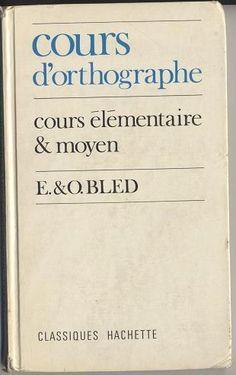 La bible de la grammaire : le Bled....reépinglé par Maurie Daboux ❥•*`*•❥