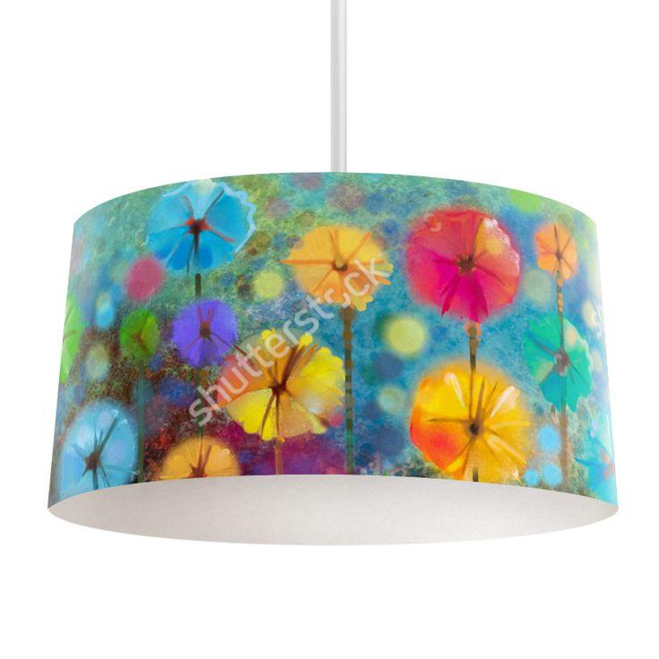 Lampenkap Flower art | Bestel lampenkappen voorzien van digitale print op hoogwaardige kunststof vandaag nog bij YouPri. Verkrijgbaar in verschillende maten en geschikt voor diverse ruimtes. Te bestellen met een eigen afbeelding of een print uit onze collectie. #lampenkap #lampenkappen #lamp #interieur #interieurdesign #woonruimte #slaapkamer #maken #pimpen #diy #modern #bekleden #design #foto #kunst #art #bloem #bloemen #verf #schilderij