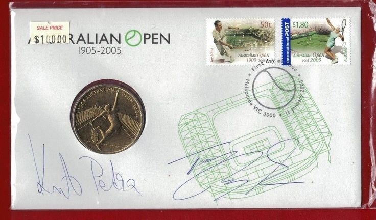 Tennis 430: Signed By Petra Kvitova And Tomas Berdych 2005 Pnc $5 Australian Tennis Open -> BUY IT NOW ONLY: $99.95 on eBay!