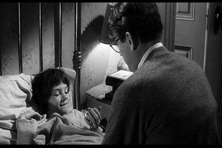 Mary Balham's favorite scene with Atticus-- the name she used even for Gregory Peck the rest of his life