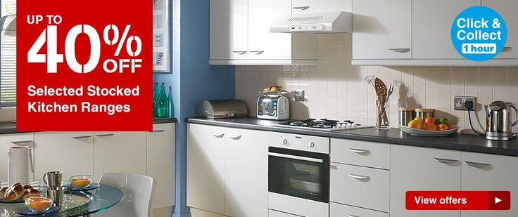 Wickes have a sale on kitchens at the moment.  I like: Stamford, Daytona, Miamia and Memphis ranges