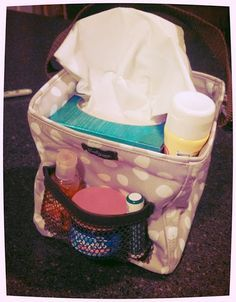 Bless You - The Little carry all caddy is great for kleenex and other items needed to feel better.