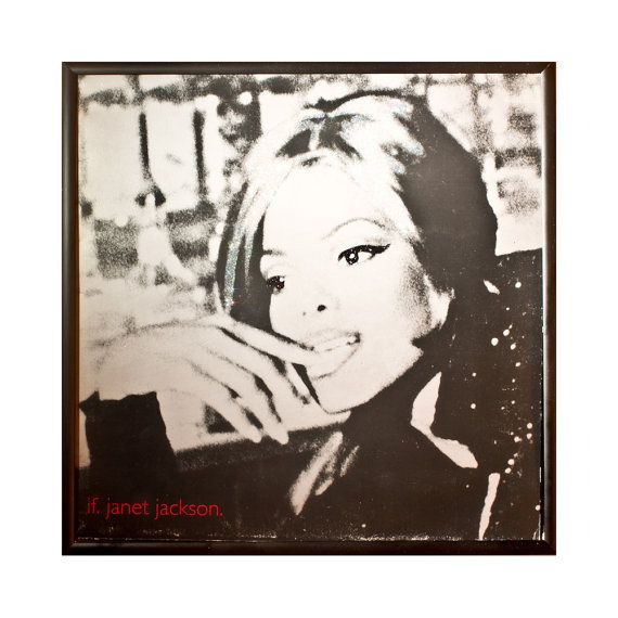 Glittered Janet Jackson If Album