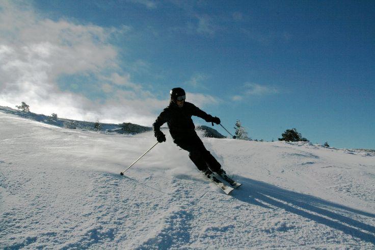Esquiando en Javalambre el pasado sábado, día 21 de Diciembre, 2013. #esquí #esquiadas #esquiador